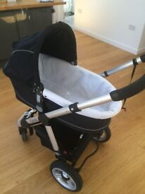 iCandy Pram & Stroller with Lascale Buggy Board & Accessories