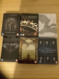Game of thrones season 1-6