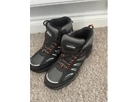 Trojan Hyperion Grey S1P Safety Hiker Boots Size 10