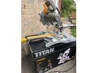 Titan Mitre Saw 310 x 62mm (used on one project)