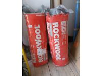 Rockwool sound insulation slabs