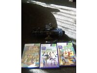 Xbox 360 kennect n 3 games