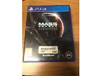 Mass Effect Andromeda PlayStation 4 game