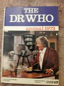 DR Who 1973 Annual