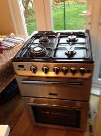 Rangemaster Professional gas cooker.