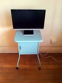 Retro/vintage bedside table OR TV table. £20