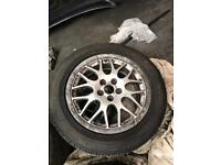 Vw golf mk4/bora bbs split rim 16""