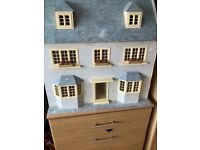 Large 3 storey Dolls house (with lots of extra)