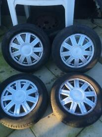 Fiesta alloys 14""
