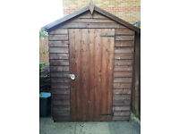 Shed 7x5, Fully assembled