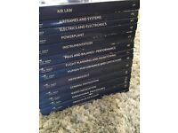 ATPL BOOKS - Used and gained 98% in ATPL Exams. All 14 Aviation Books available