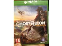 BRAND NEW GHOST RECON X-BOX ONE GAME