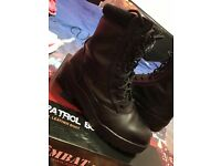 MENS Army patrol boots ** size 6 **