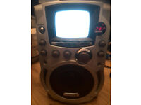 """Clarity Karaoke LS9 CDG System with 5.5"""" B/W Monitor(no microphone)"""