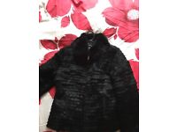 Real Angora Fur Jacket for Sale
