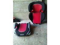 Graco Junior Maxi Sport Child booster seat 4-11 Years Group 2/3 with height adjustable back