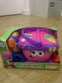 Leapfrog picnic basket NEW