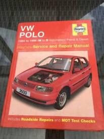 VW POLO HAYNES MANUAL