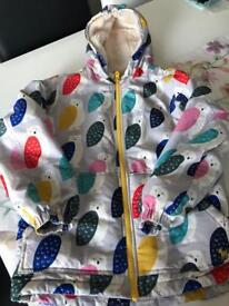 Mini Boden Girls Coat - age 11-12