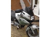 Honda Deauville 2011- Ideal commuter/winter bike. Very reliable and economical.