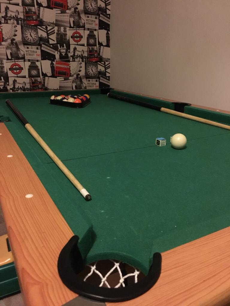 POOL TABLE FT By INCH In Pencoed Bridgend Gumtree - 40 inch pool table