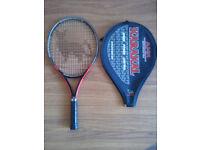 TENNIS RACKET JUNIOR AND TENNIS BALLS [ PACK OF 3 ]