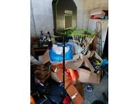 Child's Basketball hoop and base
