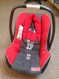 Fisher price baby car seat