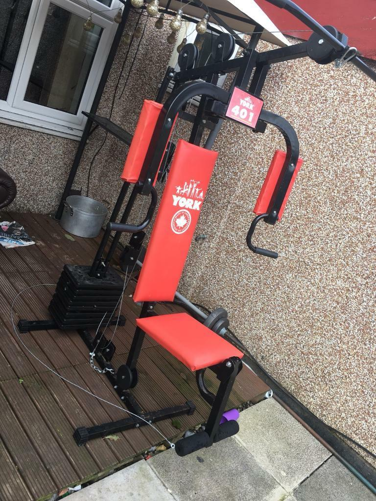 QUICK SALE, York 401 multi home gym