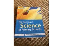 PGCE primary teacher training book SCIENCE