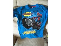 Brand new Spider-Man tshirt for age 5-6. £3.00