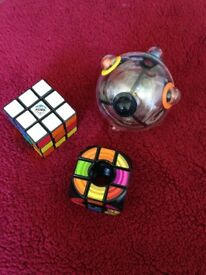 Set of 3 Rubik's puzzles