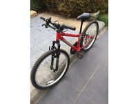 *** Bargain *** Kids Apollo Mountain Bike and Helmet in *** Great Condition ***