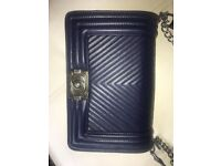 Chanel tomboy great condition navy bag