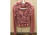 Lovely ladies top pink size 8