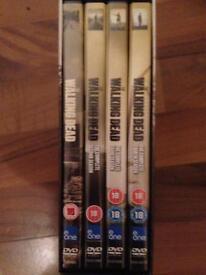 Walking dead DVD's season 1-6