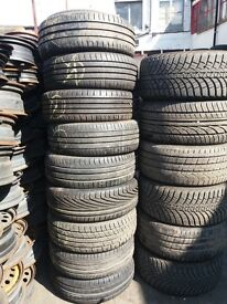 part worn tyres- many sizes available TRADE WELCOME