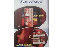 Swivel Spice Rack Brand New Boxed