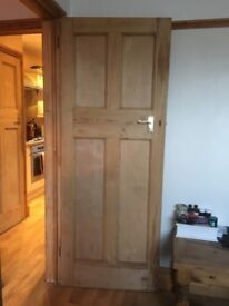 Original solid pine doors x6