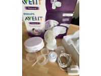 Advent electric breast pump