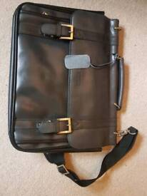 Leather office bag - NEW Kenneth Cole