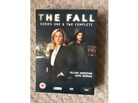 The Fall DVD series 1 and 2 opened but unwatched