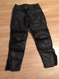 leather motorcycle trousers for sale