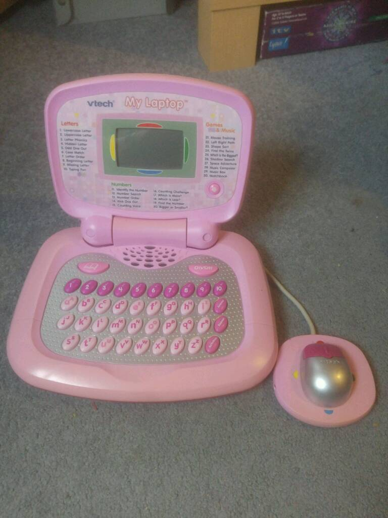 Child's Vtech laptop and mouse