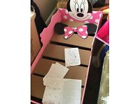 Minnie mouse kids bed