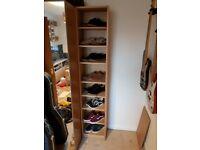 IKEA BILLY Oak Bookshelf/CD/DVD Storage Unit