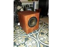 Cinema sub woofer speaker
