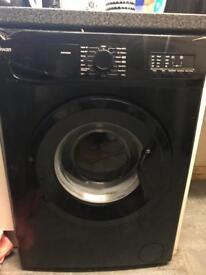 Black 8kg washing machine
