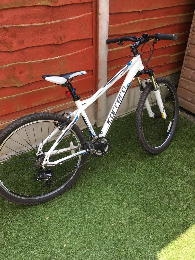 Bike Carrera Valour 16 inch mountain bikein Lymm, CheshireGumtree - Used but in good condition Carrera Valour Mountain bike. 16 inch frame. Would suit 11 14 yr old. Ready to go