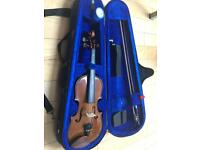 Stentor half violin and case